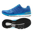 adidas(アディダス) SNOVA SEQUENCE BOOST 2(エスノヴァ シークエンス ブースト) Men's 27.0cm B34589(ブルー×ブルー×ソーラーブルー)