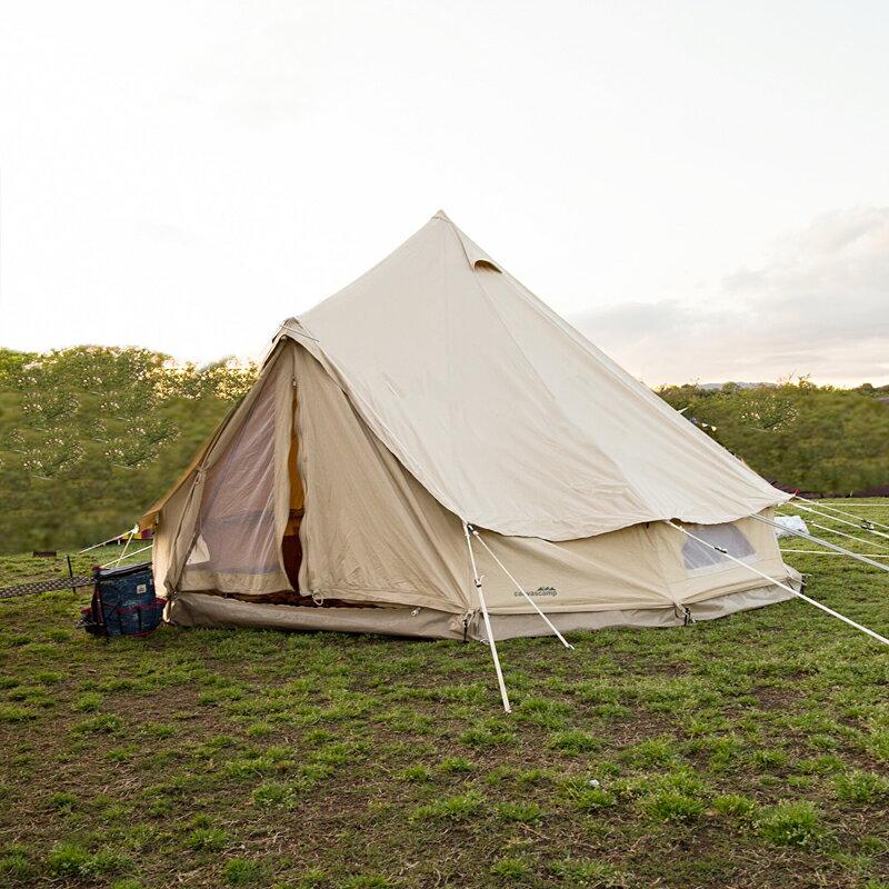 【送料無料】CanvasCamp(キャンバスキャンプ) SIBLEY 400 ULTIMATE PRO (PROTECH) 400cm サンドベージュ 400ProT【SMTB】