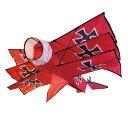 【送料無料】X-KITES(エコスポーツカイト) スーパーサイズ3D レッドバロン【SMTB】