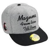 MAZUME(マズメ) FLAT CAP(フラットキャップ) フリー グレー MZCP-246-02