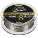 モーリス(MORRIS) バリバス スーパートラウト アドバンス マックスパワーPE 150m 1.2号24.1lb シャンパンゴールド×ホワイト