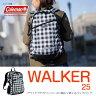 Coleman(コールマン) 【WALKER/ウォーカー】ウォーカー25/WALKER25 25L チェッカー 2000027045