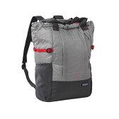 【送料無料】パタゴニア(patagonia) Lightweight Travel Tote Pack(ライトウェイト トラベル トート パック) 22L Drifter Grey(DFTG) 48808【SMTB】