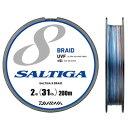【送料無料】ダイワ(Daiwa) UVF ソルティガセンサー 8ブレイド+Si 200m 0.8号/13lb 04634602