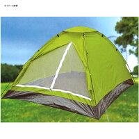 ノーブランド 組立式ドームテント ライトグリーン TP-1611【あす楽対応】の画像