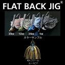 デプス(Deps) FLAT BACK JIG(フラットバックジグ) 1oz #24 スケールルートビア