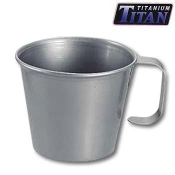 キャプテンスタッグ チタン製スタッキングマグカップ