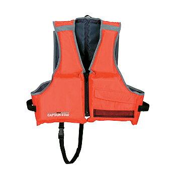 キャプテンスタッグ(CAPTAIN STAG) シーサイドフローティングベスト2/子供用 レッド MC-2551