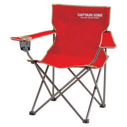 キャプテンスタッグ(CAPTAIN STAG) パレット ラウンジチェア typeII チェアー/椅子/キャンプ/レジャー用 レッド M-3914【あす楽対応】