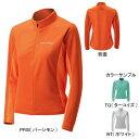 モンベル(montbell)ジオライン3Dメッシュ サイクルロングスリーブジップシャツ Women's L TQ(ターコイズ)