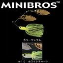 デプス(Deps) ミニブロス 1/2oz DW #10 ホワイトチャート