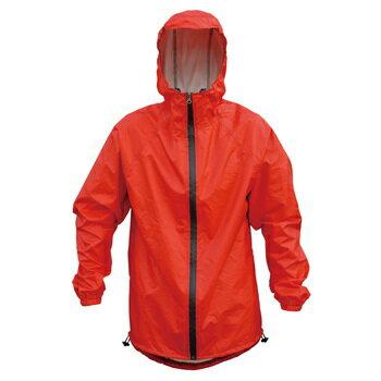 GIZA PRODUCTS(ギザプロダクツ) レイン ジャケット M レッド WEC13400