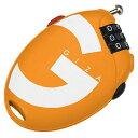 GIZA PRODUCTS(ギザプロダクツ) TL956 ダイヤルロック オレンジ LKW13604