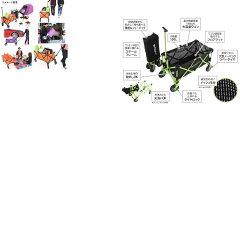 D.O.D(ドッペルギャンガーアウトドア)フォールディングキャリーワゴンオレンジ×ブラック