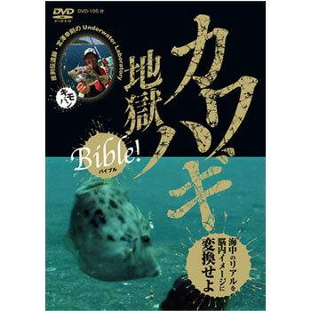 つり人社 カワハギ地獄Bible DVD 105分