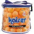 Kaiser(カイザー) 卓球スポーツボール100Pセット オレンジ KW-252【あす楽対応】