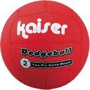 Kaiser(カイザー) ナイロンワンド ドッチボール 2号 レッド KW-187R