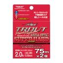 東レインターナショナル(TORAY) ソラロームII トラウトリアルファイタ-AREA・SPEC(エリアスペック)スーパーハード 2lb ナチュラル A75P