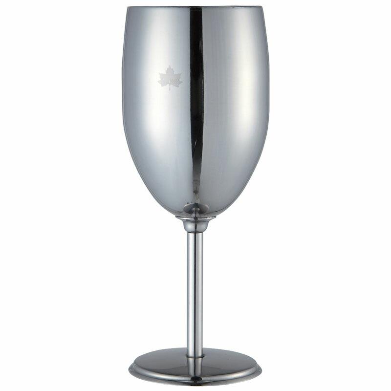 ロゴス ステンレスワイングラス