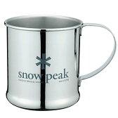スノーピーク(snow peak) ステンレスマグカップ 300ml E-010R【あす楽対応】