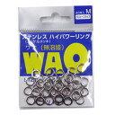 UOYA(ウオヤ) B.RIG'S 無溶接ステンレスハイパワーリング WAO(ワオ) 40ケ入り M【あす楽対応】