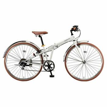 キャプテンスタッグ(CAPTAIN STAG) ブラッシュアップFDB7007BAA 700C パールホワイト YG-211 キャプテンスタッグ(CAPTAIN STAG) 折りたたみ自転車
