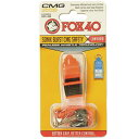 FOX40(フォックス40) ソニックブラストCMG マルチ オレンジ×ブラック
