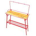 ネイチャートーンズ(NATURE TONES) The Folding Bar Counter Table レッド BT-R
