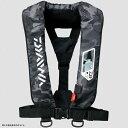 ダイワ(Daiwa) DF-2007 ウォッシャブルライフジャケット(肩掛けタイプ手動・自動膨脹式) フリー ブラックカモ 04595371