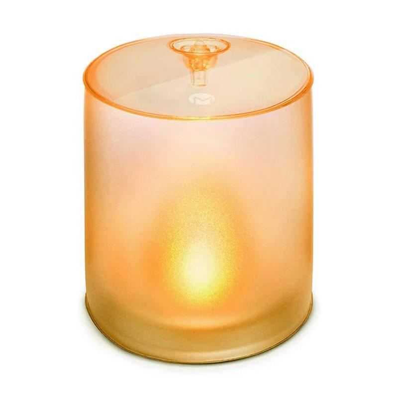 キャンドル こはく色 の ゆらぎ の 灯り(MPOWERD)