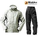 ショッピングポンチョ マック(Makku) アクションEX ユニセックス EL ライトグレー AS-8400