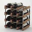 トラディショナルワインラック 12本用