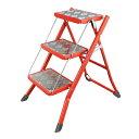 FOLDING 3-STEPS LADDER RED/100-252RD フォールディング 3 ステップス 脚立 踏台 実用性 安全性 DULTON(ダルトン)