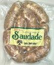 豚腸を使用したフランクタイプの豚肉ソーセージ(ブラジル式ソーセージ)。 にんにくを効かせていながら、コリアンダーやパセリ...