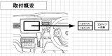 パイオニア Pioneer カロッツェリア carrozzeria 本体取付キット ホンダ ステップワゴン/ステップワゴン スパーダ用 KJ-H60DE