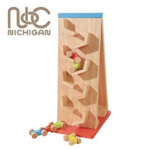 ニチガン ことことスロープ BB43 スロープおもちゃ 木