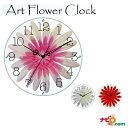美しいお花の掛け時計♪ アートフラワークロック ガーベラ ピンク GERBERA Pink STARLINE スターライン SW-1187PK