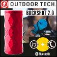 OUTDOOR TECH(アウトドアテック) BUCKSHOT 2.0 (バックショット 2.0) Red(レッド) OT2301-R