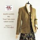 ★【SALE】【RRL by Ralph Lauren】ラルフローレン DOUBLE RL ダブルアールエル ツイード ジャケット/GREEN KHAKI
