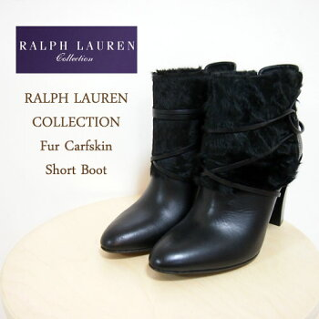 ��RalphLaurenCollection�ۥ��ե?��󥳥쥯�����ե����쥶�����硼�ȥ֡���/BLACK�ڤ������б���