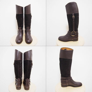 ��RalphLaurenCollection�ۥ��ե?��󥳥쥯�����쥶���������ɥ���å����֡���/BROWN�ڤ������б���