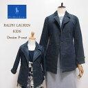 【SALE】【KID'S】【POLO by Ralph Lauren】ラルフローレン キッズ デニム ピーコート/INDIGO【あす楽対応】
