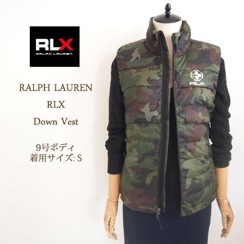 【SALE】【RLX by Ralph Lauren】ラルフローレン ダウンベスト/CAMO【あす楽対応】