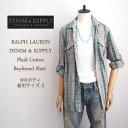 【SALE】【DENIM&SUPPLY by Ralph Lauren】ラルフローレン デニム&サプライ チェック ネルシャツ/GREEN【あす楽対応】メール便可
