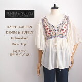��SALE�ۡ�DENIM&SUPPLY by Ralph Lauren�ۥ��ե?��� �ǥ˥�����ץ� �졼�����å� �ɽ� �֥饦��/IVORY�ڤ������б���