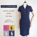 SALE ラルフローレン レディース 半袖 5ボタン ポロワンピースRalph Lauren Solid Polo Shirts Dresses