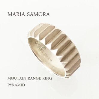 瑪麗亞 · 薩莫拉山脈銀環瑪麗亞 · 薩莫拉 · 純銀山脈的環金字塔