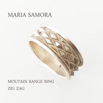 瑪麗亞 · 薩莫拉山脈銀環瑪麗亞 SAMYORA 純銀山脈環或之字形