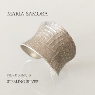瑪麗亞 · 薩莫拉銀環瑪麗亞 · 薩莫拉 · NEVE 環 S 純銀