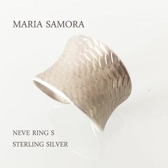 瑪麗亞 · 薩莫拉銀環瑪麗亞 SMOR NEVE 環 S 純銀